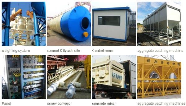 components of a concrete plant