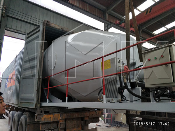 aimix concrete mixer truck to New Zealand