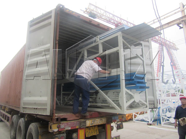 concrete plant to East Timor