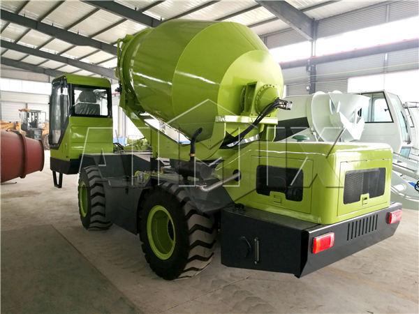 1.2m3 portable concrete mixer