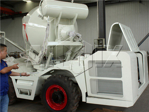 1.2 m3 small concrete mixer