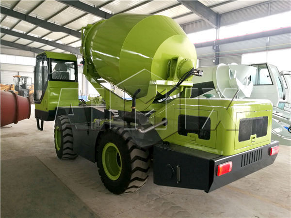 1.2m3 mini concrete mixer