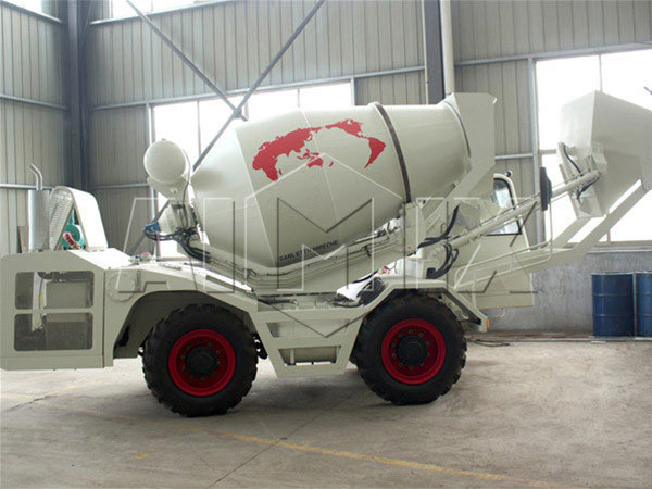 1.2 m3  towable concrete mixer