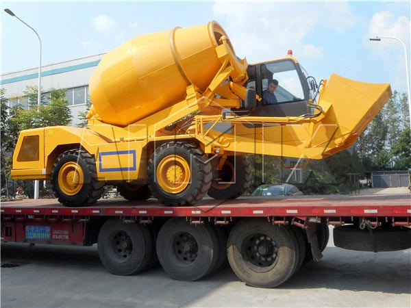 2.0m3 portable concrete mixer