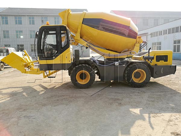 2m3 concrete drum mixer
