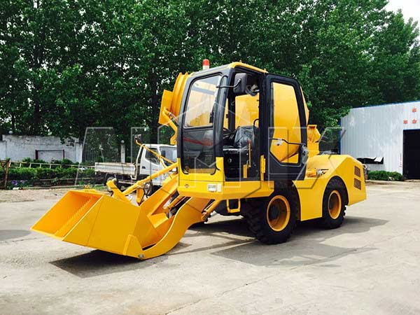 3.5m3 portable concrete mixer