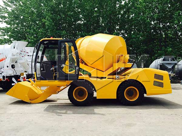 3.5m3 towable concrete mixer