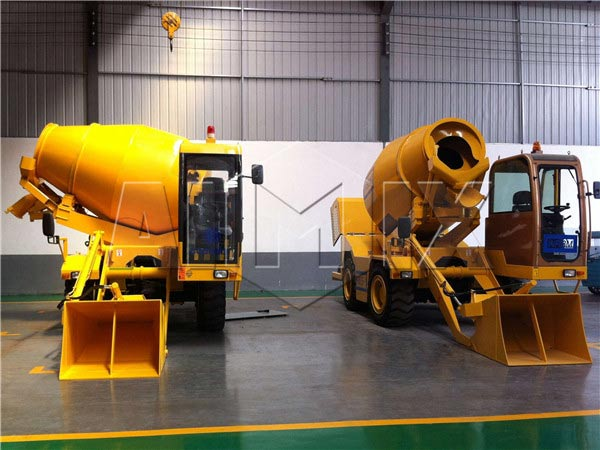 3m3 mini concrete mixer