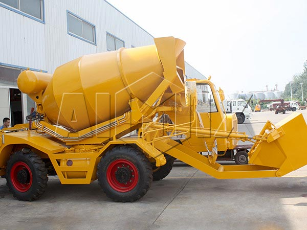 4m3 large concrete mixer