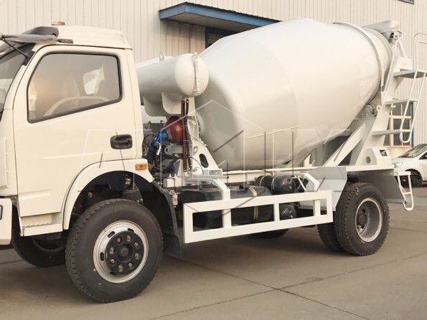 Aimix concrete mixer truck to Pakistan