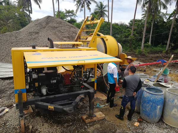 Aimix mixer pump in the Philippines