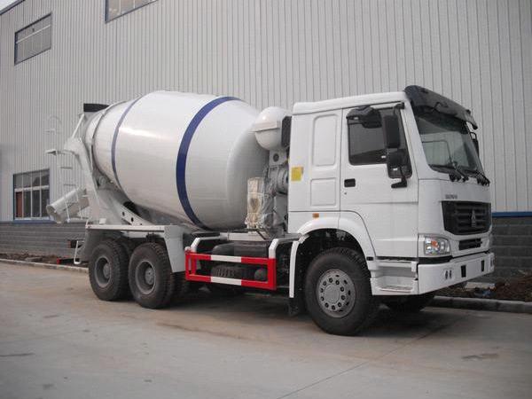 4m³ concrete mixer truck