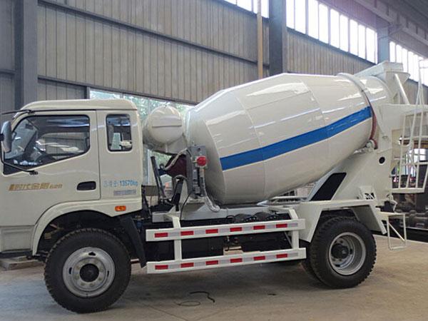 6m³ concrete mixer truck