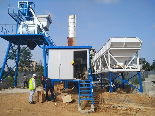 Aimix HZS50 concrete plant