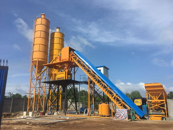 Aimix HZS60 concrete plant