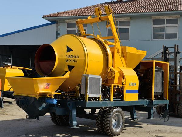 JB30 diesel concrete mixer pump