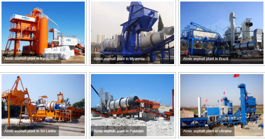 Aimix asphalt plant exported to foreign coutries