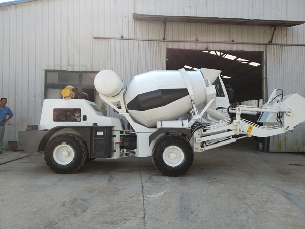 Aimix self loading concrete mixer to Russia 1