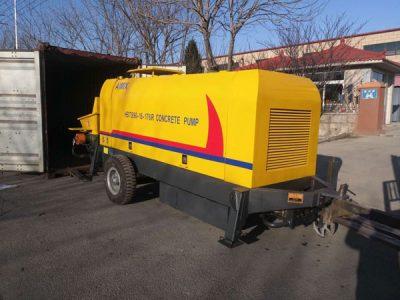 Aimix diesel concrete pump to Kazakhstan 5