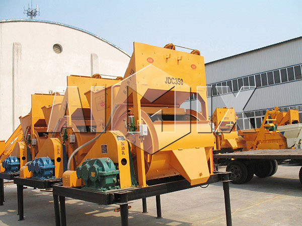 JDC350 small concrete mixer for sale