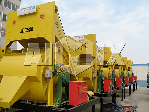 JDC500 small concrete mixer for sale