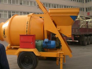 JZC750 small concrete mixer