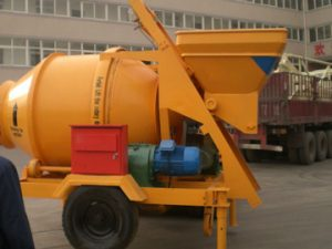JZC750 large portable concrete mixer