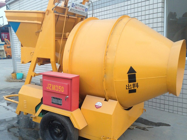 JZM350 Tilting Drum Concrete Mixer