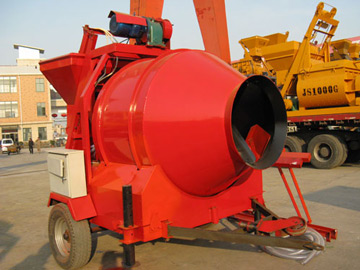 JZM350 small concrete mixer