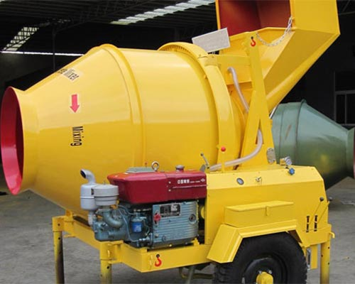 small diesel concrete mixer