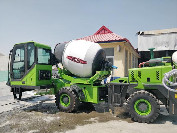 Aimix self loading concrete mixer sent to Namibia 2