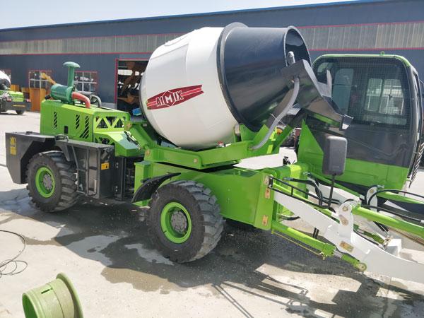 Aimix self loading concrete mixer sent to Namibia 3