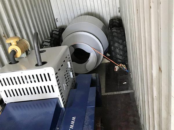 Aimix Self Loading Concrete Mixer Sent To Uzbekistan