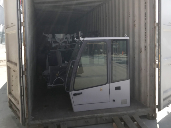 Aimix Self Loading Concrete Mixer To Uzbekistan