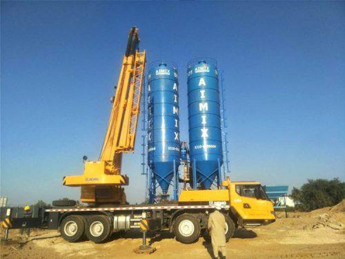 Aimix cement silo in Pakistan 4