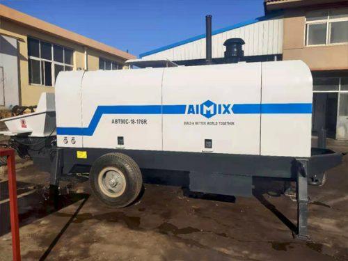 abt90 concrete pump to Indoensia
