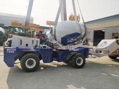 AS2.0 self loading concrete mixer
