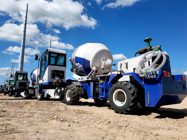 self-load-concrete-mixer