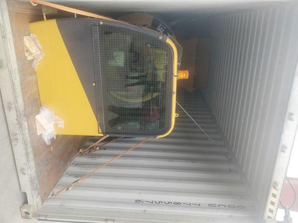 Aimix self loading concrete mixer sent to Kenya 2