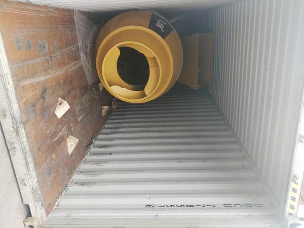 Aimix self loading concrete mixer sent to Kenya 3