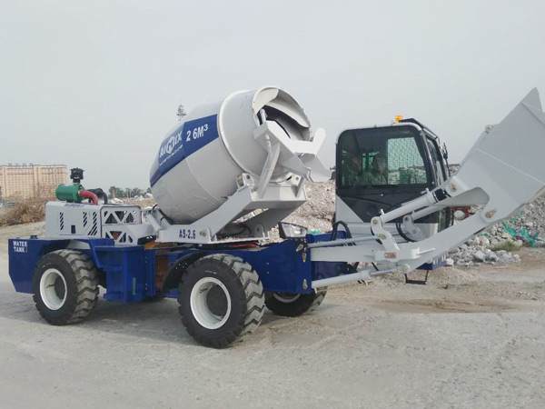 AIMIX self load concrete mixer sent to Kazakhstan