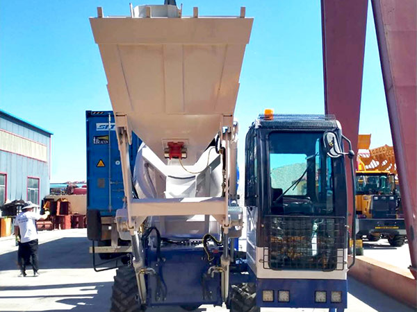 AIMIX self loading concrete mixer sent to Philippines 2