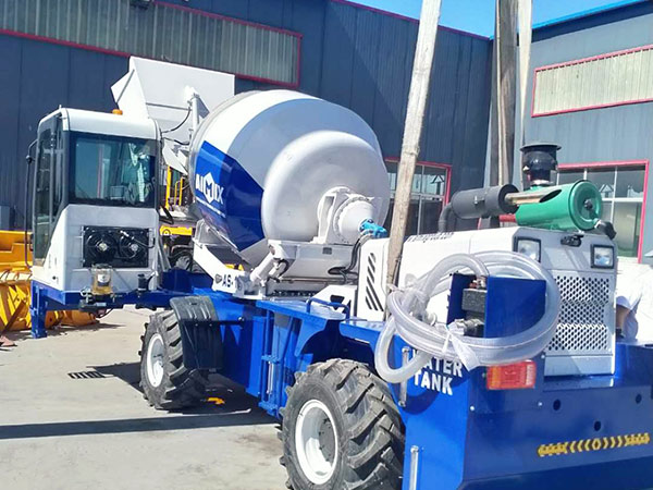 AIMIX self loading concrete mixer sent to Philippines 4