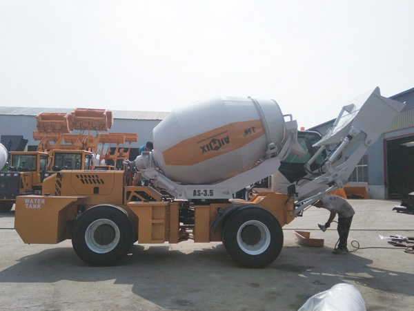 AIMIX 3.5B self load mixer sent to the Philippines
