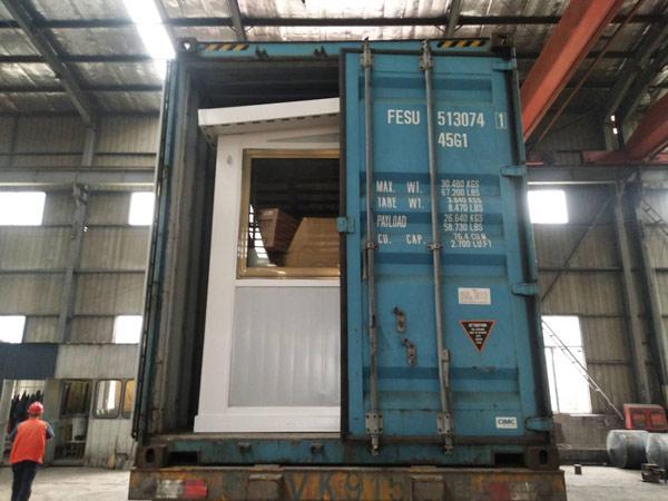 AIMIX AJ25 mini concrete batching plant sent to Russia