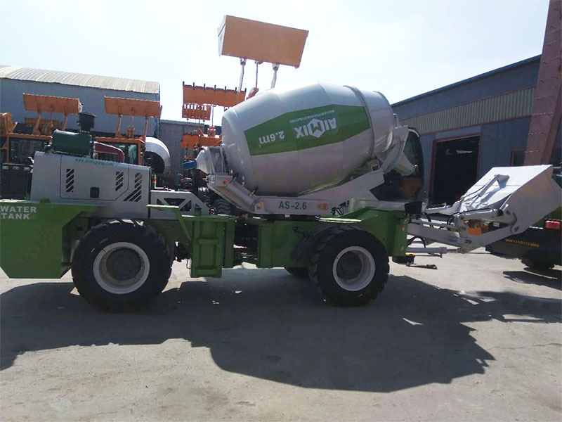 AIMIX AS2.6 self loading mixer to the Philippines