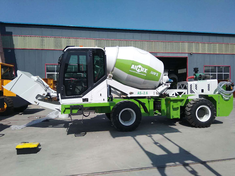 AIMIX AS2.6 self loading mixers to the Philippines