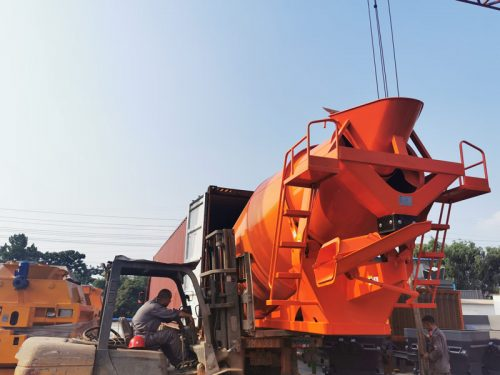 AIMIX concrete mixer drum to Malaysia