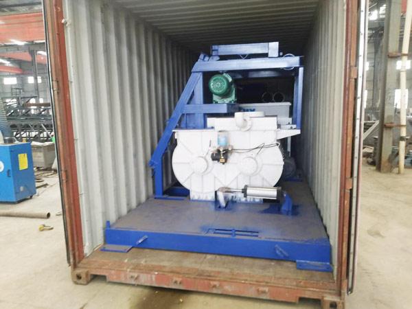 AIMIX mini concrete batch plant sent to Russia