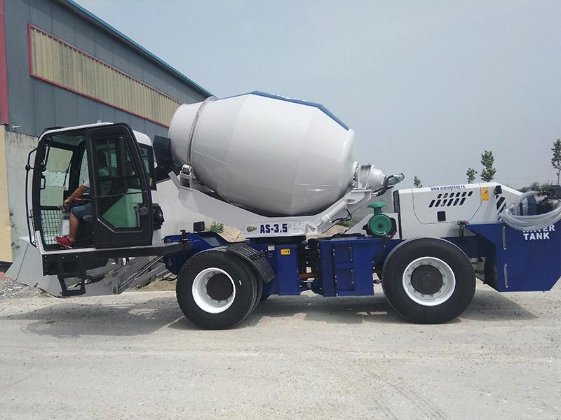 AIMIX self loading mixer to Uzbekistan